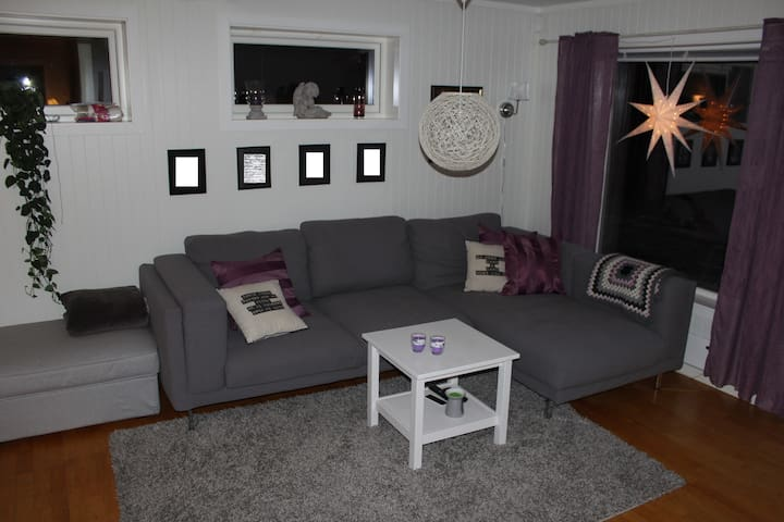 Cozy apartment 10 min outside Kristiansand