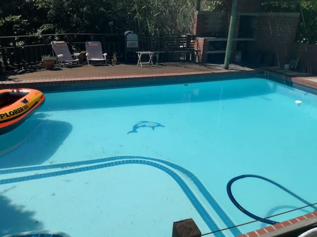 Pool is ready for summer!