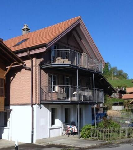 Haus am See 1-Zimmer Ferienwohnung - Därligen
