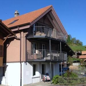 Haus am See 1-Zimmer Ferienwohnung - Därligen - Leilighet