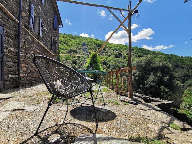 «La Roquette» petit coin de paradis en Cévennes