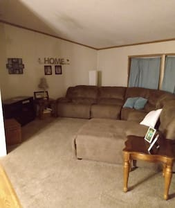 House with lake access.  Two bedrooms.  Full bath