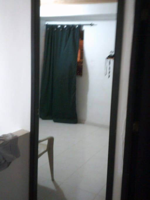 looking in from hallway