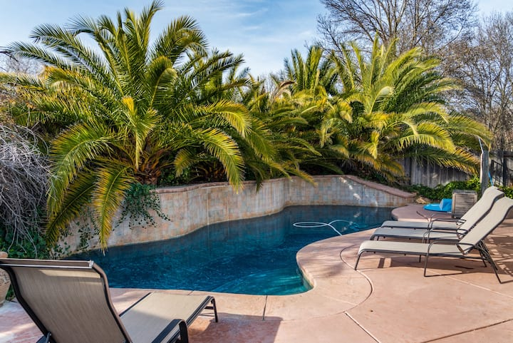 Paso Peach - Private Pool Near Downtown