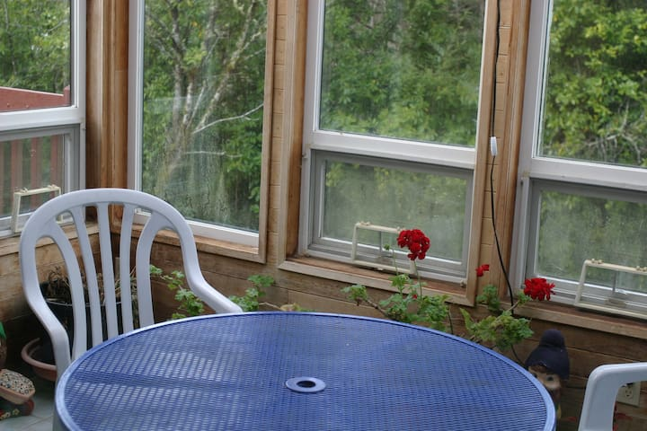 Spring in the sunroom... a great spot to enjoy breakfast!