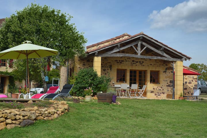 Holiday home in the Perigord in Montferrand-du-Périgord with fantastic views