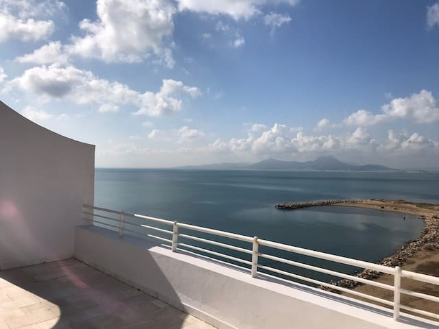 A must to try: Best view of Tunis