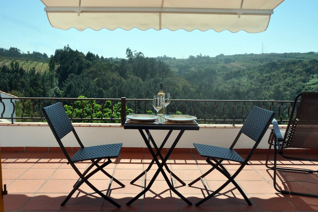 Your valley views from your terrace