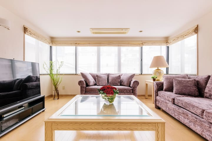 Luxury Home For Max 8 ppl in Roppongi/Free wi-fi!