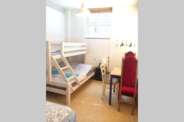 Family or group room in Copenhagen 4 - København - Apartment