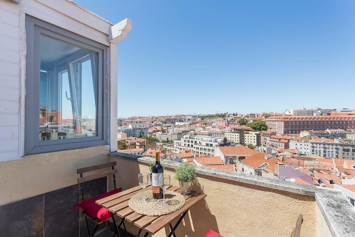 Amazing 360° View Terrace - Near Senhora do Monte