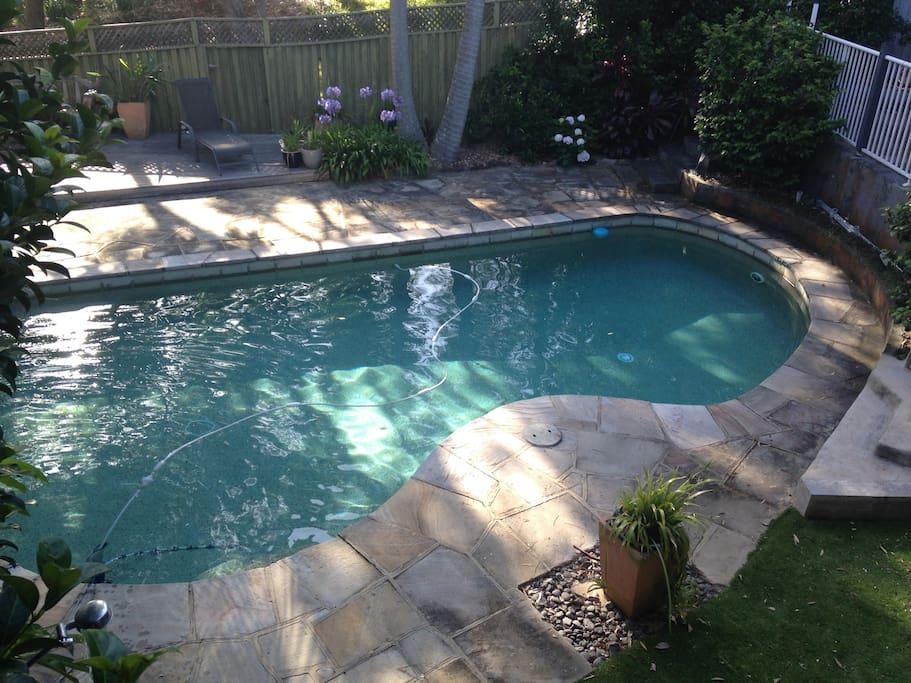 Our inground pool