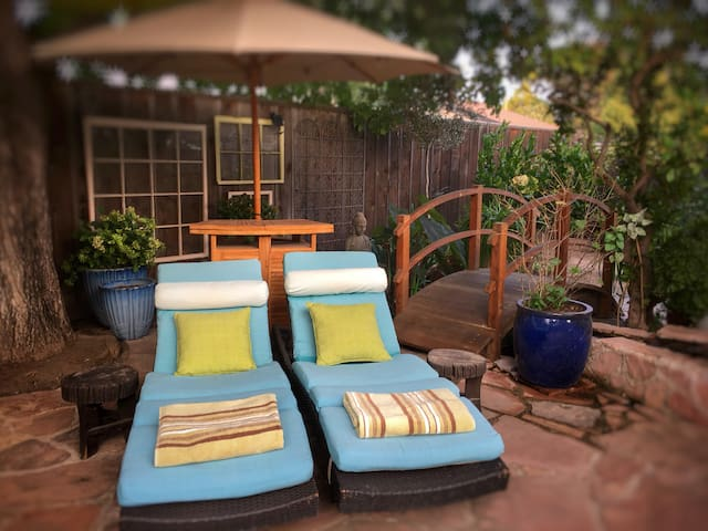 Pool lounges available to our guests