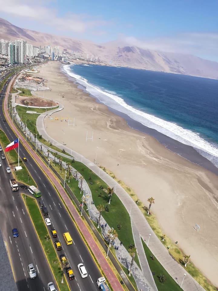 La vista más hermosa de la costanera  de Iquique