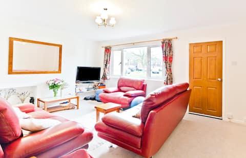 Double bedroom, quiet area