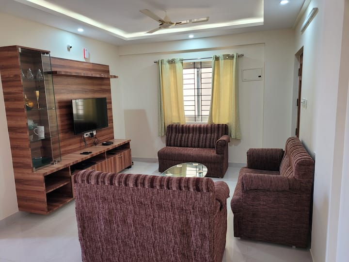 Fully furnished 2BHK Apartment @Jakkuru(Bengaluru)