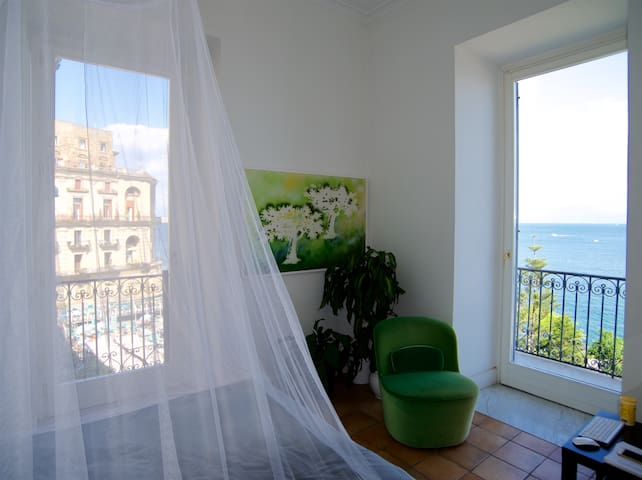 Seaview apartment in the heart of posillipo