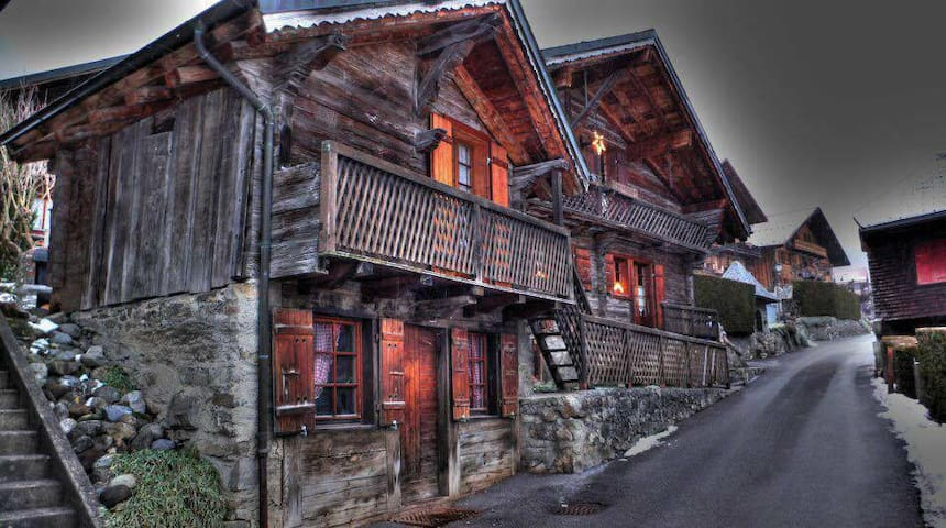 Mazot - Champéry - 牧人小屋