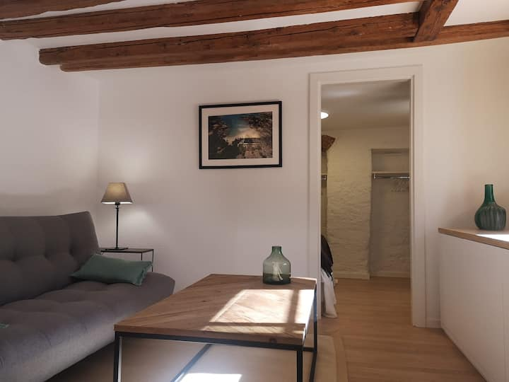 Renovated 1 Bedroom - Chêne Bourg