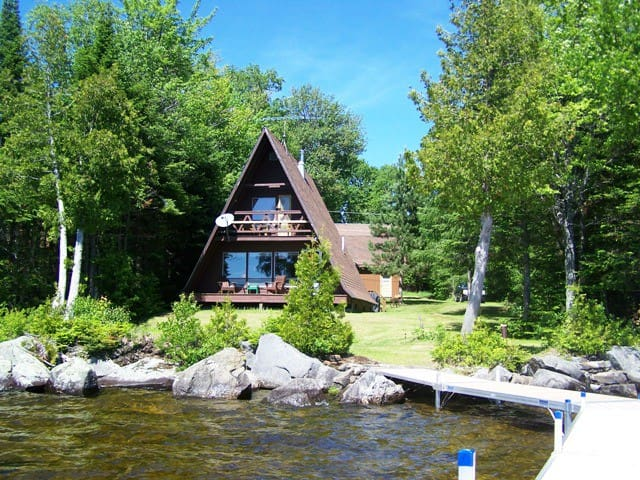 #119 This A-Frame gets an A+ for it - Lily Bay - Cabin