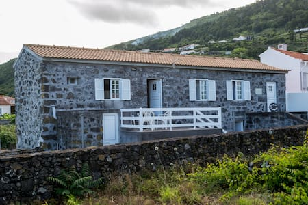 Casa do Lampião, para férias Ilha do Pico