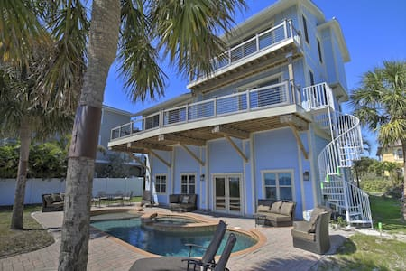 NEW! Quiet Waterfront Oasis with Pool & Boat Dock!