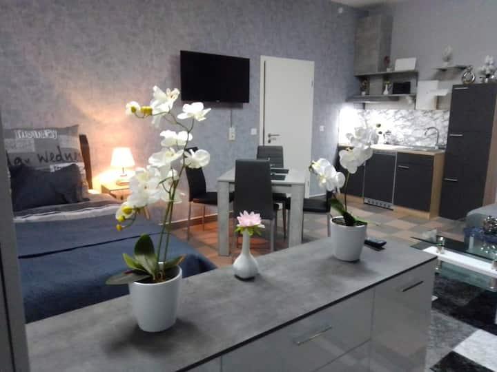Apartment-Orchidee nahe Bahnhof-Forum-Rittalarena