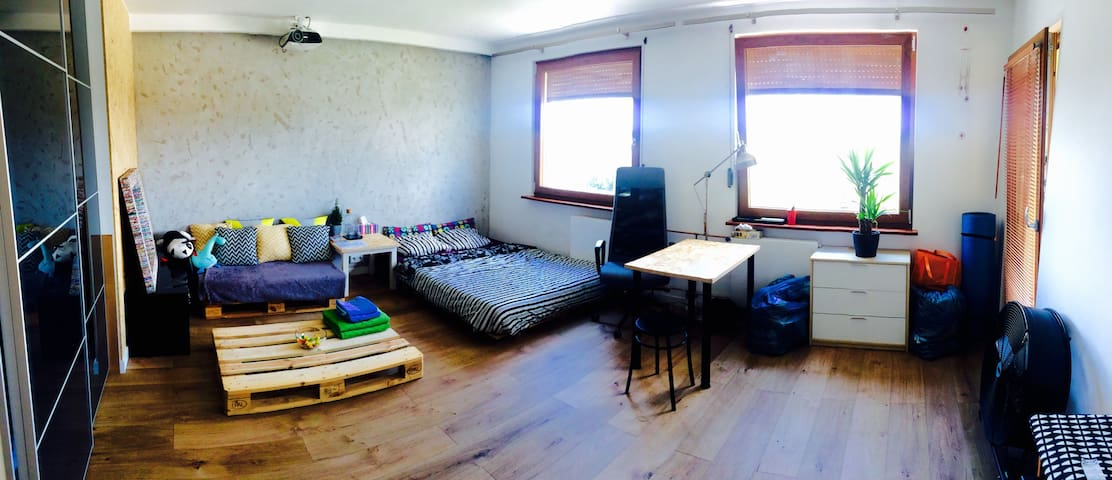 ***NEW ROOM - 15 min to CENTER by BUS*** - Wrocław - Apartmen