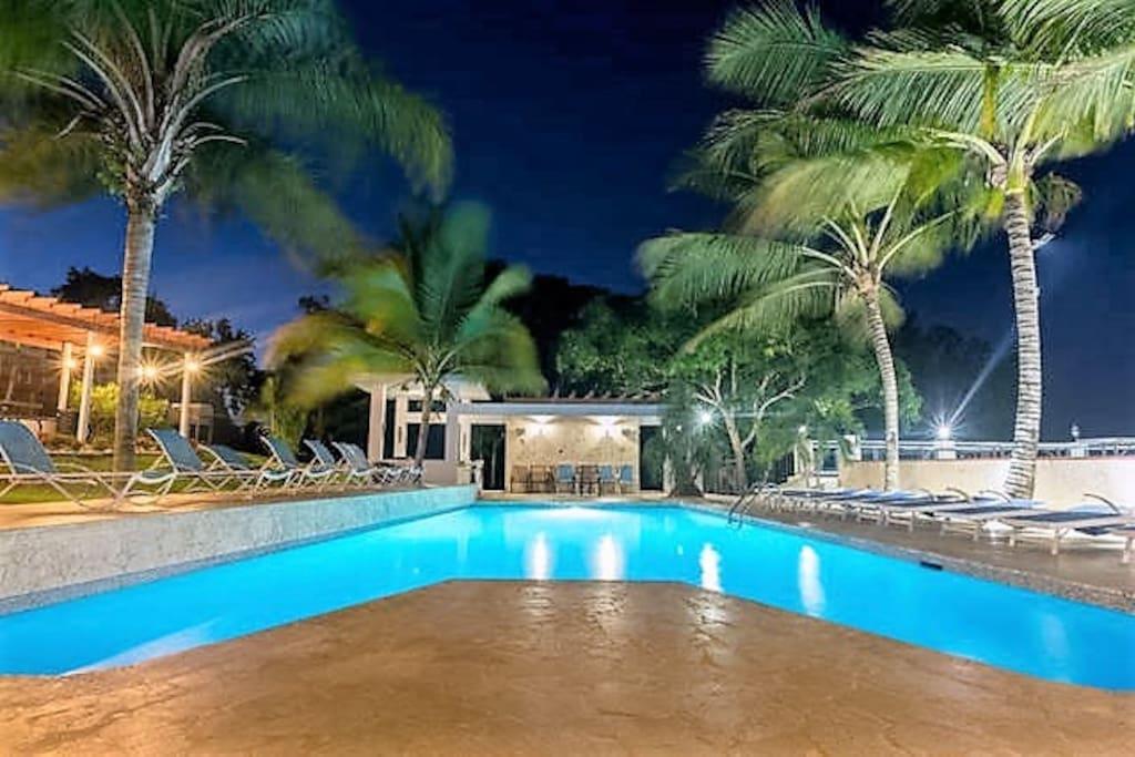Villa Bonita pool area