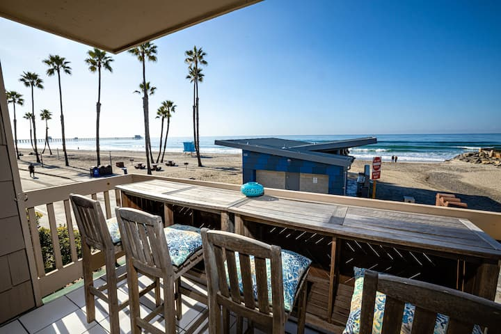 FRONT ROW Beach Cottage! Awesome Ocean Views!!