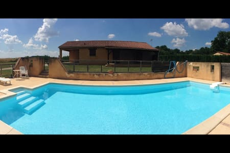 Maison avec piscine privée  Masclat - Haus