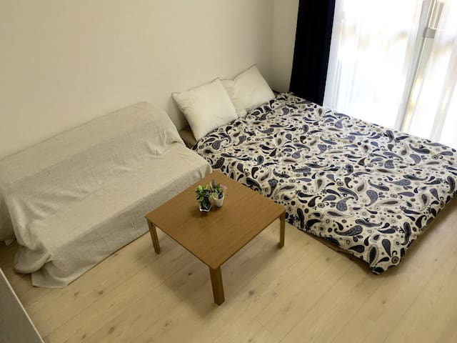 413Near Hakata sta*4ppl*wifi! - Fukuoka - Apartment