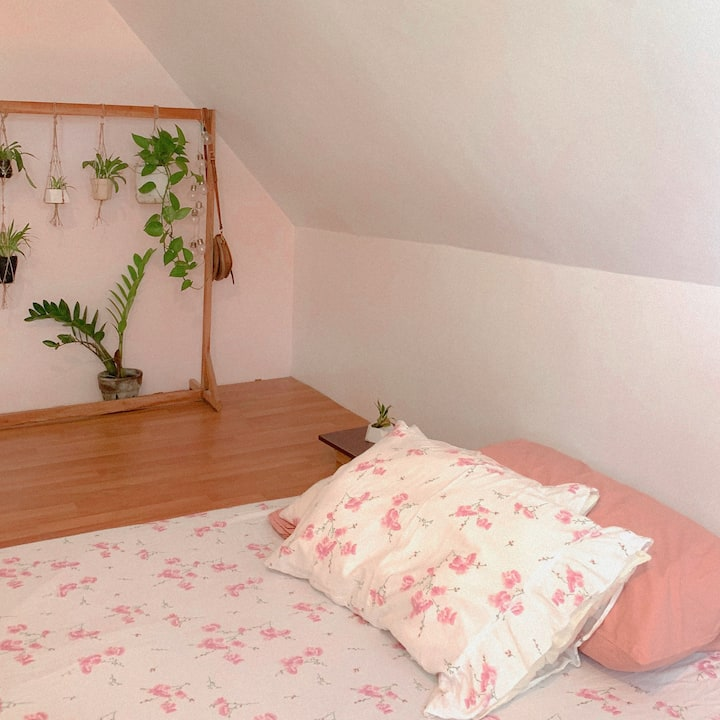 Cozy Home Stay in an Attic Studio / Bedroom