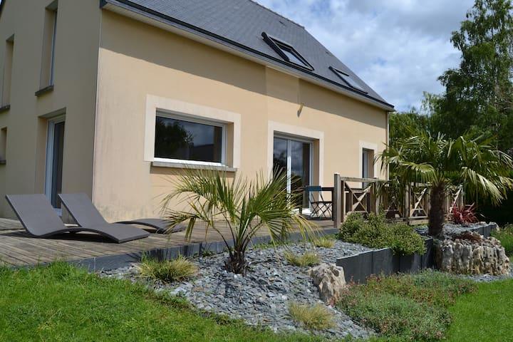 maison au calme pour se détendre - La Chapelle-des-Fougeretz