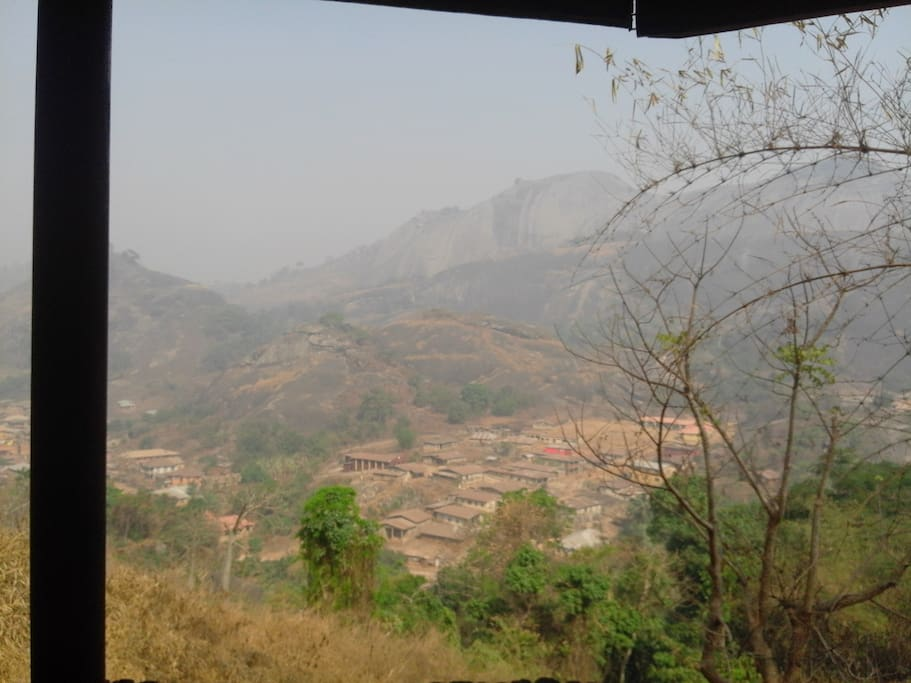 Take a trip and have a picnic at the top of the idanre hills