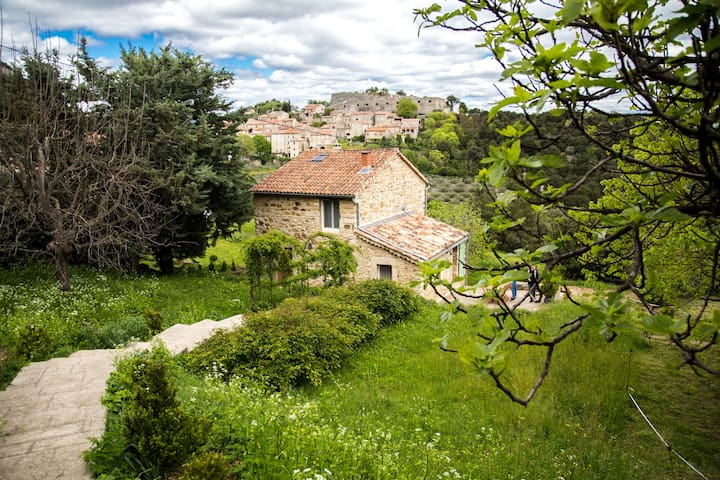 Lovely house with the best scenery of the village