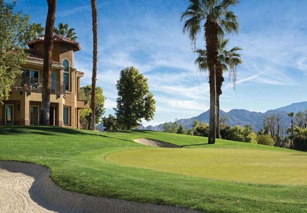 Championship golf on the pristine courses of the adjacent Desert Springs JW Marriott Resort & Spa.