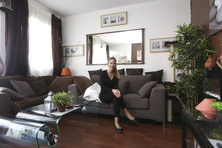 bel appartement calme et spacieux - Antony - Wohnung