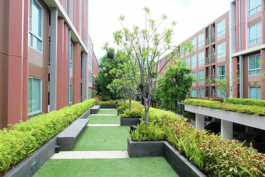 公寓共用花园