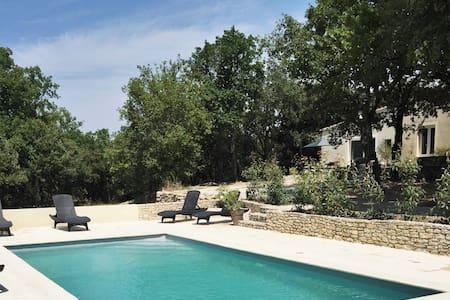 Charming house near Avignon w/ pool - Venasque