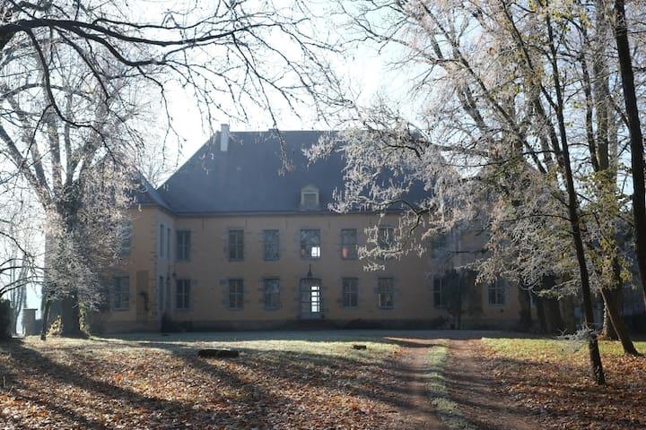 Modern castel in Burgundy