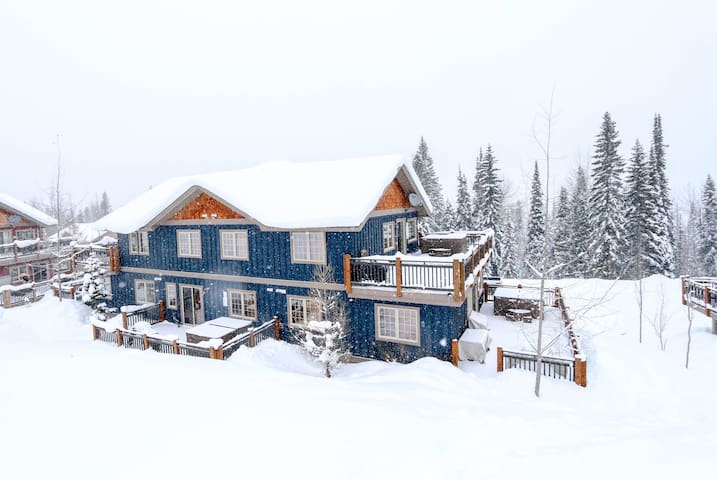 Snowy Peaks 2 Bdrm, Top Floor Mountainside Getaway