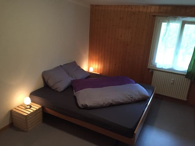 1 Room close to a train station - Meiringen - Apartamento