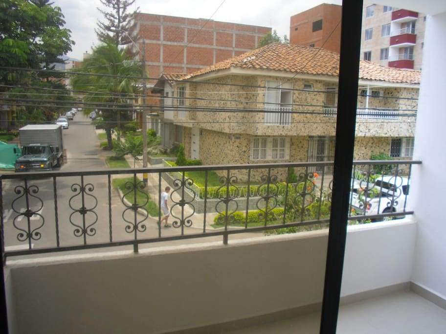View from Masterbedroom Balcony.