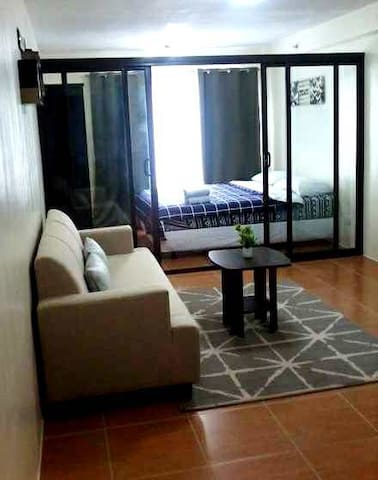 A unit for a classy staycation yet affordable!