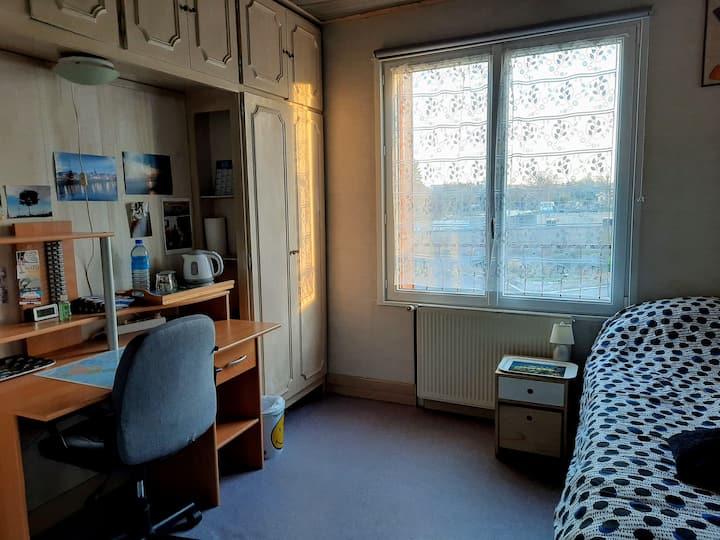 Chambre privée à 30mn Paris/Villepinte/CDG Roissy