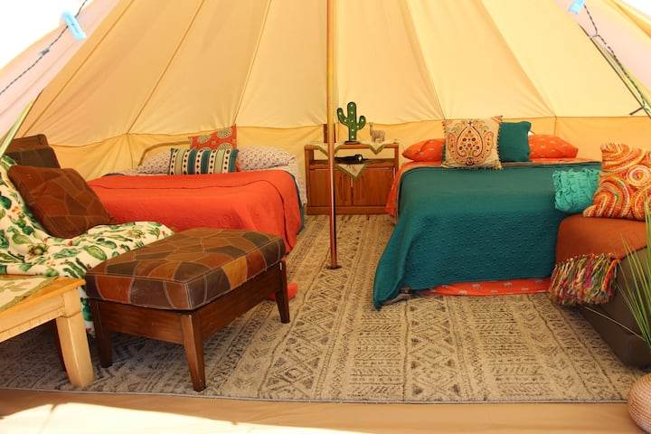 Glamping in the Desert for up to 5 People!