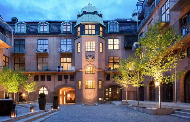 Exclusive studio apartment center of Oslo 70 kvm2