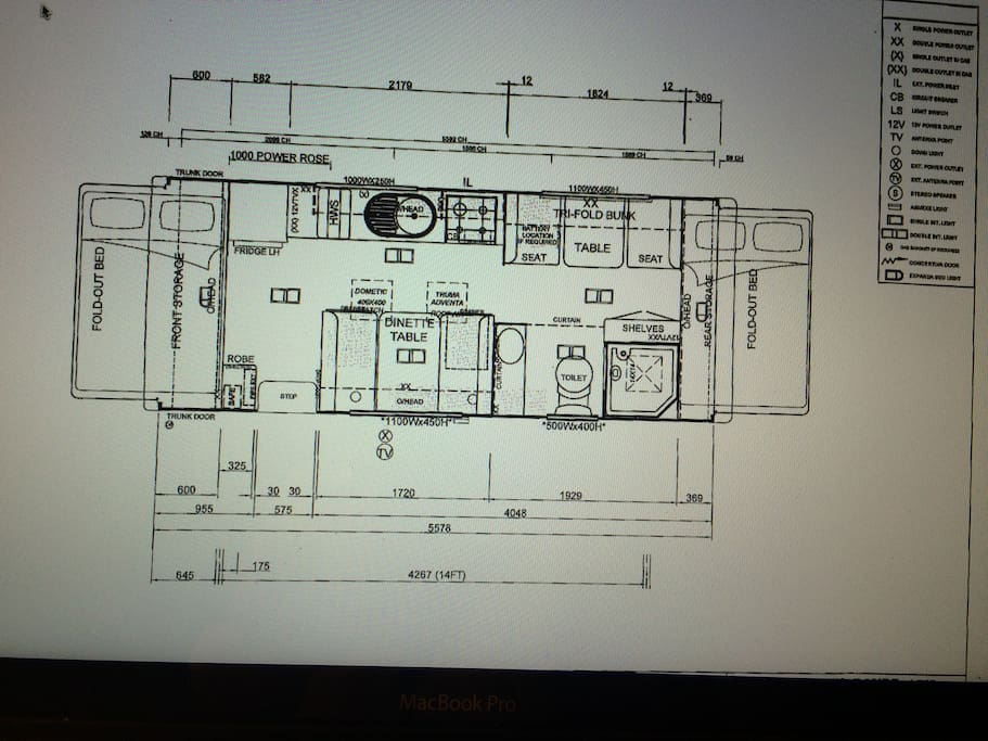 The fabulous floor-plan!
