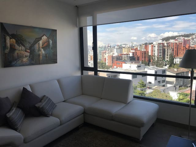 PANORAMIC VIEW LUXURY SUIT CENTRAL AREA OF QUITO